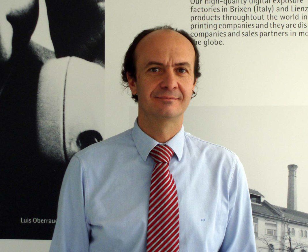 Rafael Carbonell, Director General de Durst en la península ibérica