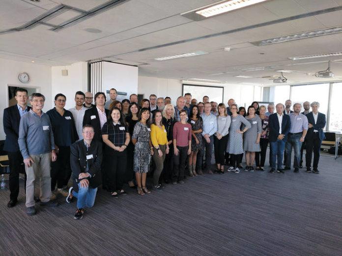 Los miembros del Comité de Gestión de la Acción Context, en la reunión de inicio que se celebró en Bruselas el 11 de octubre
