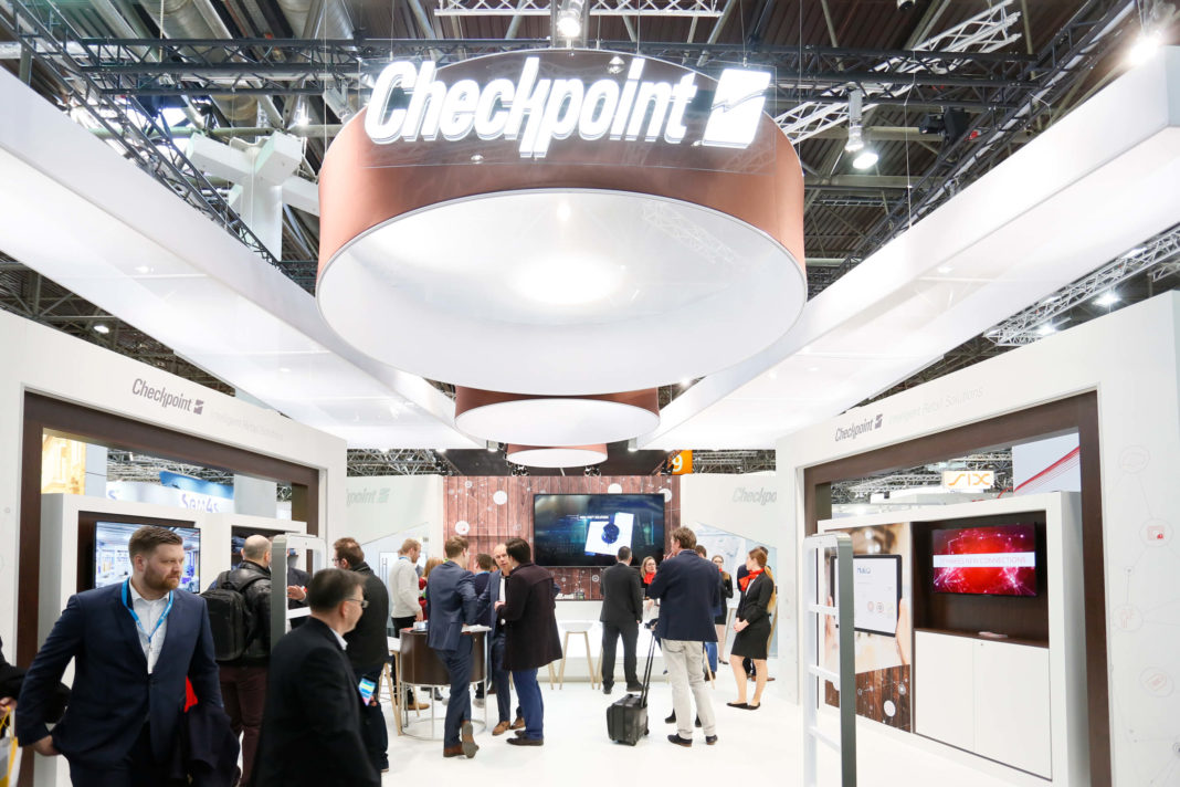 Stand Checkpoint Systems en EuroCIS 2018