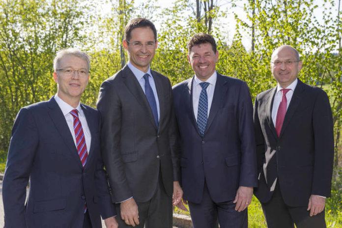 Heiko Arnold, Stefan Doboczky, Robert van de Kerkhof y Thomas Obendrauf (de izqda. a dcha)