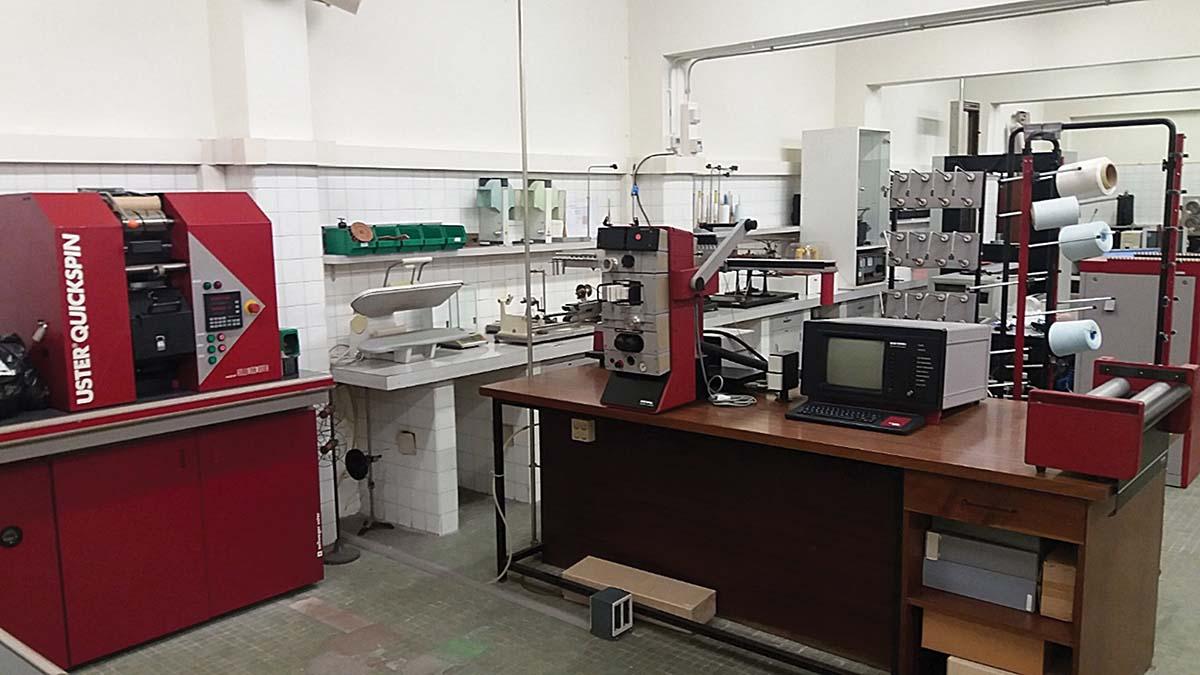 Laboratorio de Física Textil