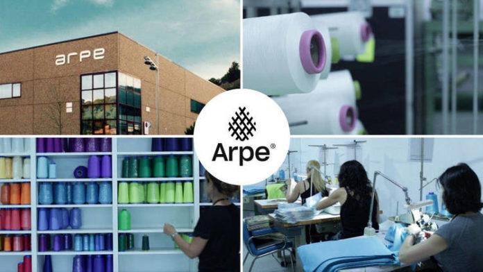 Imagen de la fábrica de ARPE en Arenys de Munt (Barcelona)