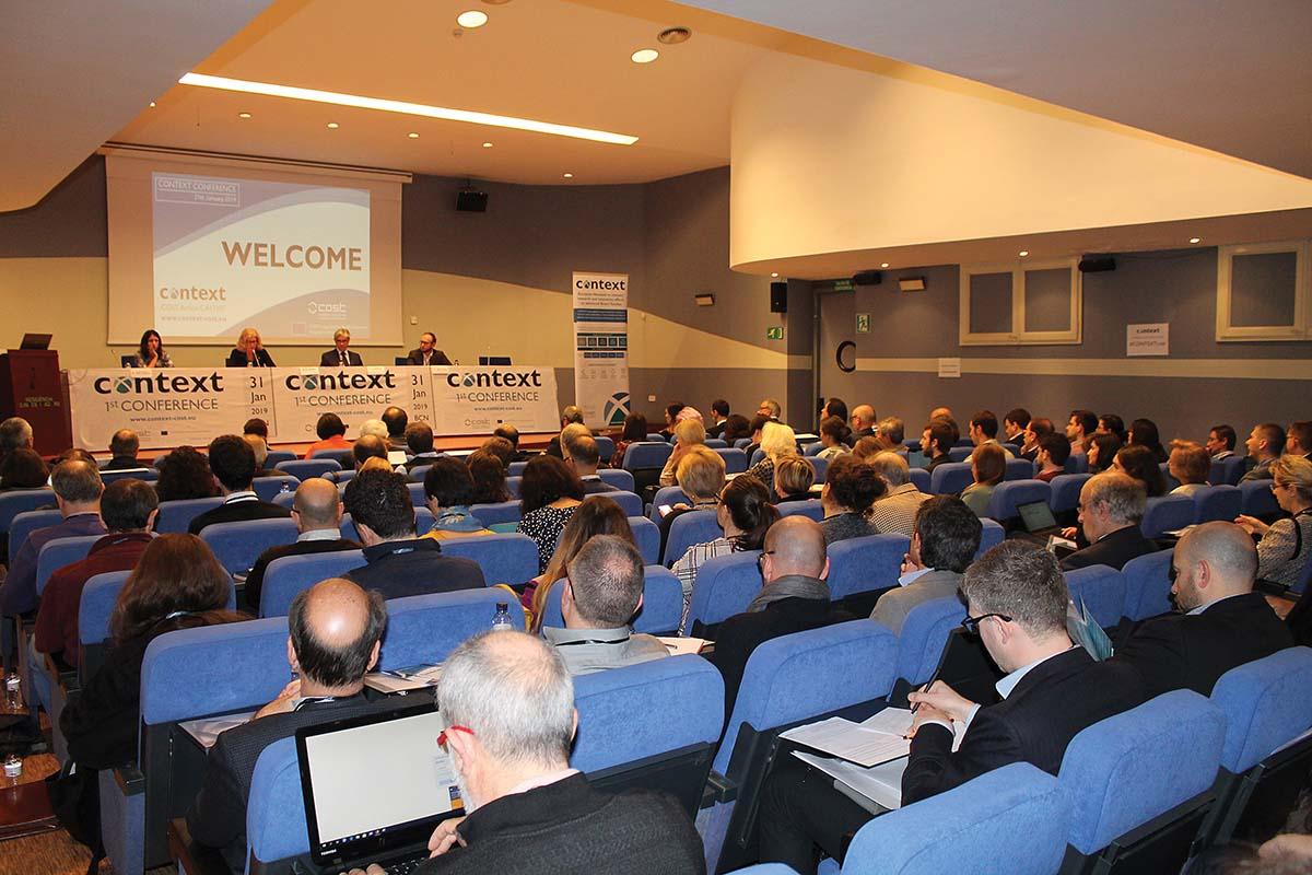 Conferencia CONTEXT (Barcelona, 2019)