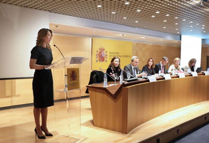 Xiana Méndez durante su intervención