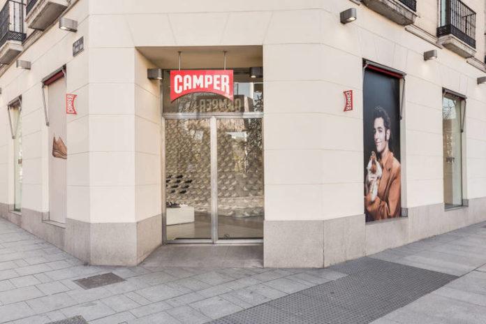 Establecimiento de Camper en Madrid