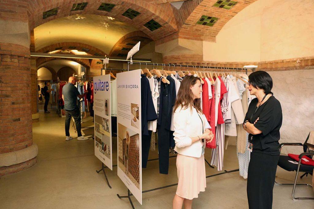 Showroom de Modacc en 080 Barcelona Fashion