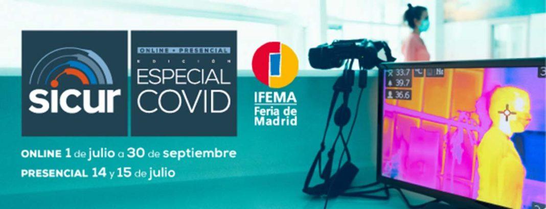 IFEMA arranca su actividad en julio con Sicur Especial Covid