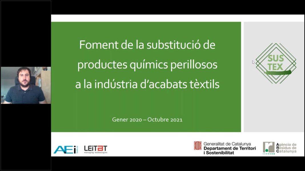 webinar de AEI Tèxtils