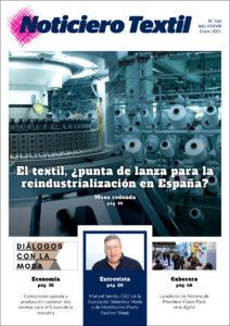 Portada Noticiero Textil 266 enero 2021