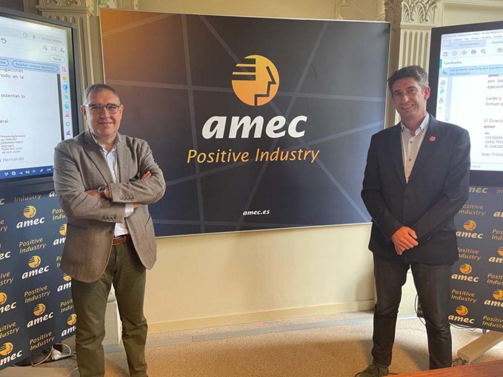 amec y B Lab Spain se alían para favorecer la integración de la sostenibilidad en las empresas del sector industrial