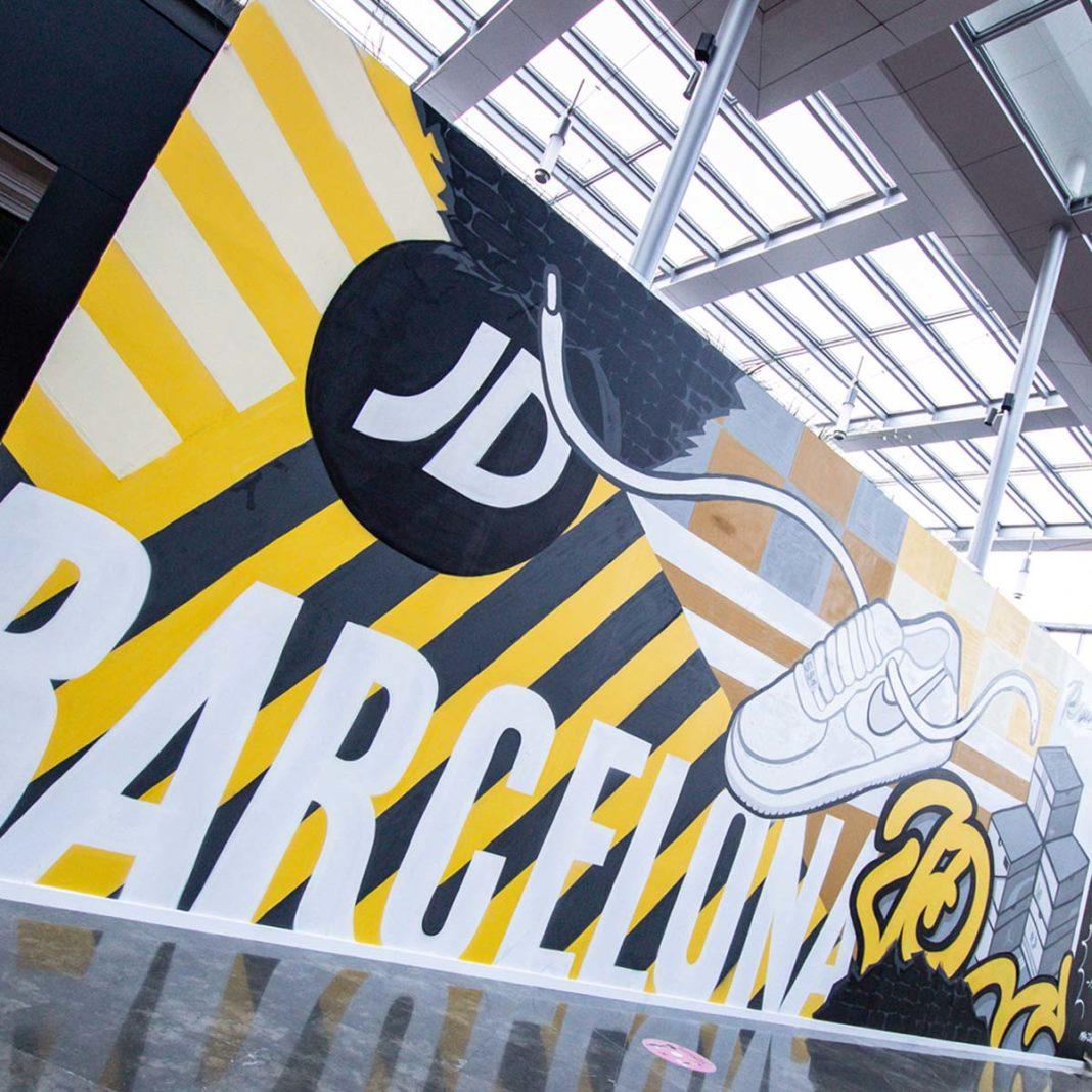 JD inaugura su flagship en el C.C La Maquinista de Barcelona