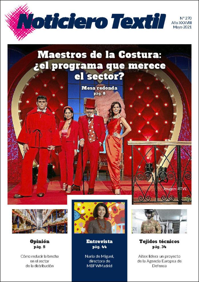 Noticiero Textil 270 mayo 2021
