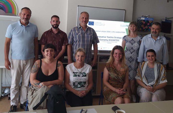La AEI Tèxtils se reúne con el consorcio Cleantex en Atenas