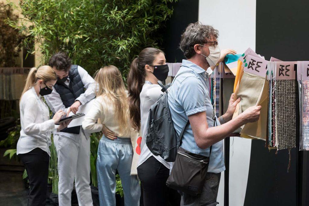 Texworld Evolution Paris - Le Showroom recibe más de setecientos visitantes